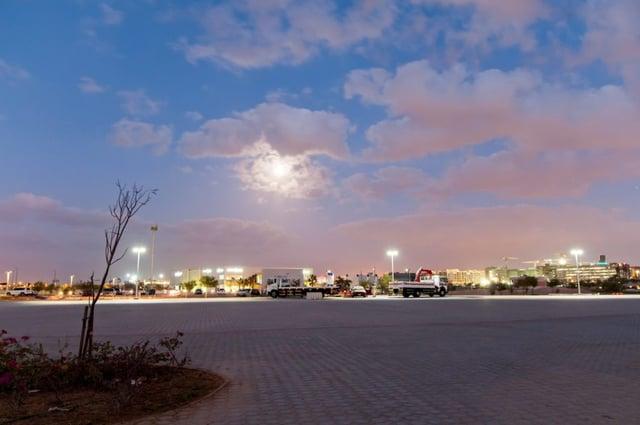 solar streetlighting in Masdar