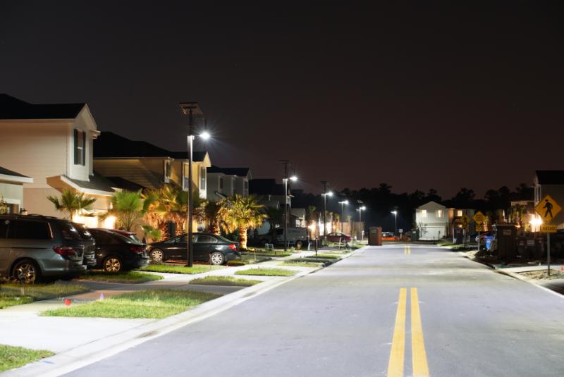 Installation Sunna Design zone résidentielle en Floride